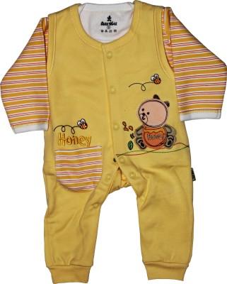 Child World Baby Boy,s Gold Dungaree