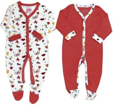 Morisons Baby Dreams Baby Boy's Red Romper