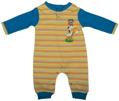 Mee Mee Baby Boy's Multicolor Romper