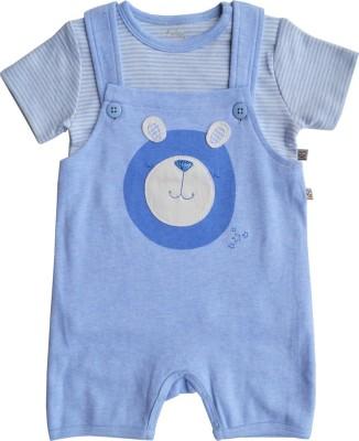 Babeez World Baby Boy's Blue Romper