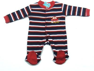Ahad Baby Boy's Red Romper
