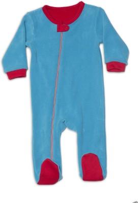 Nino Bambino Baby Boy's Blue Romper