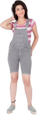 FCK-3 Womens Grey Dungaree