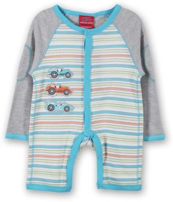 Lilliput Baby Boys Light Blue Romper