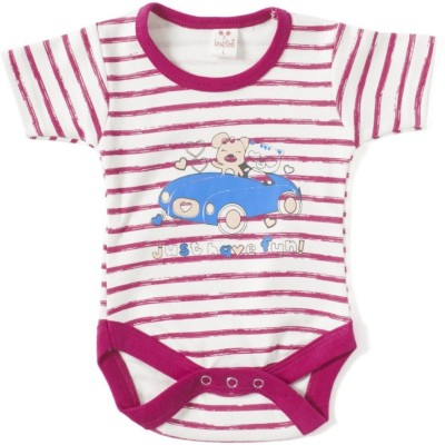 Kandy Floss Baby Boy's Red Romper