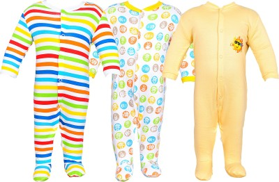 Gee & Bee Romper For Boys(Multicolor)