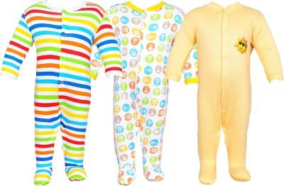 Gee & Bee Baby Boy's Multicolor Romper
