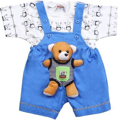 Koolkids Baby Boy's Blue Romper