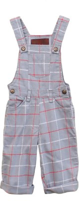 My Little Lambs Baby Boy's Grey Dungaree