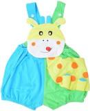 Baby Bucket Romper For Boys Animal Print...