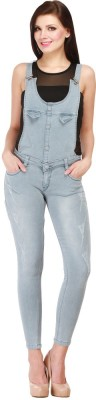 Cali Republic Womens Grey Dungaree