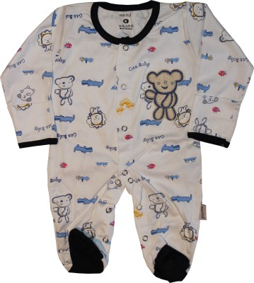 KidsRUs Baby Boy's White Romper