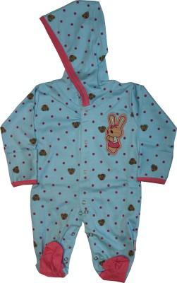 KidsRUs Baby Boy's Blue Romper