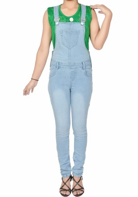 Nifty Womens Light Blue Dungaree