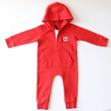 Anthill Romper For Boys Solid Cotton (Re...