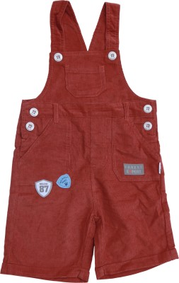 Milou Baby Boy's Red Dungaree