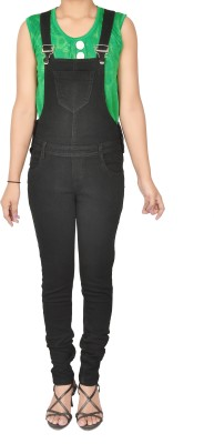 Nifty Women's Black Dungaree