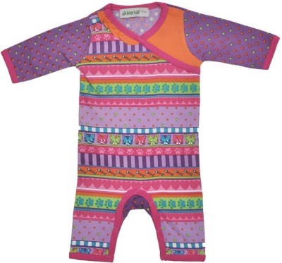 Bio Kid Baby Boy's Multicolor Romper