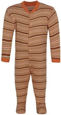 Jazzup Baby Boy's Orange Romper