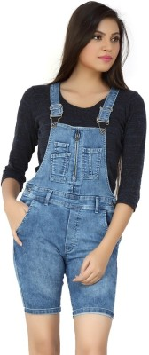 FCK-3 Women's Light Blue Dungaree