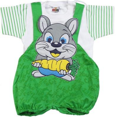 Koolkids Baby Boy's Green Romper