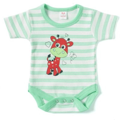 Kandy Floss Baby Boy's Light Green Romper