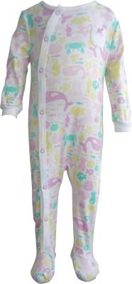 Teddy's choice Baby Boy's Pink Romper