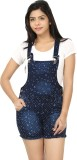 Fasnoya Women's Dark Blue Dungaree