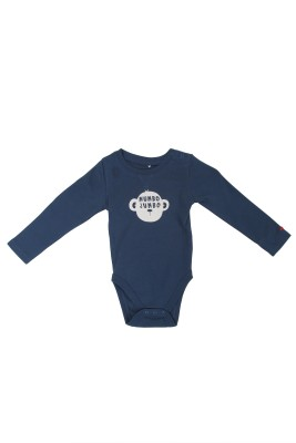SAIAANSH Baby Boy's Blue Romper