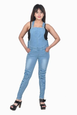 Nifty Women's Light Blue Dungaree