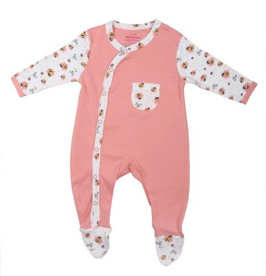 Morisons Baby Dreams Baby Boy's Pink Romper