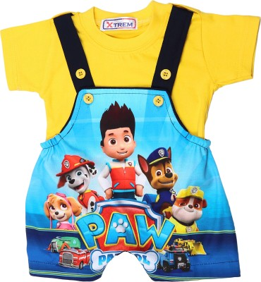 Xtrem Baby Boys Blue, Yellow, White, Red Romper