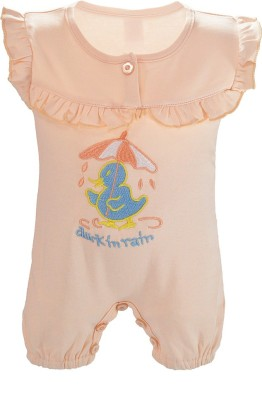 Chocoberry Baby Boy's Pink Romper