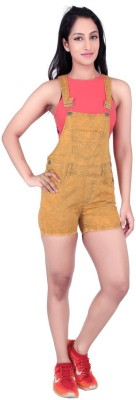 FCK-3 Women's Yellow Dungaree