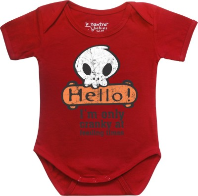 Tantra Baby Boy's Red Romper