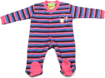 Ahad Baby Boy's Pink Romper