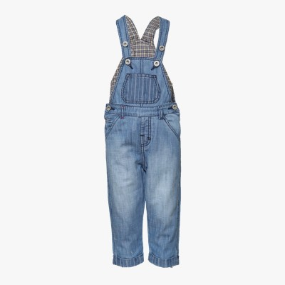 Tales & Stories Boy's Light Blue Dungaree