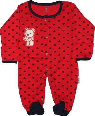 KidsRUs Baby Boy's Red Romper