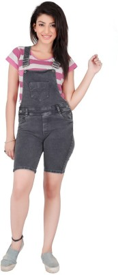 FCK-3 Women's Grey Dungaree