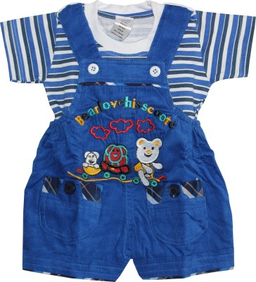 Oly Kids Baby Boy's Blue Dungaree