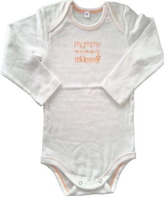 Cool Baby Baby Boys White Romper