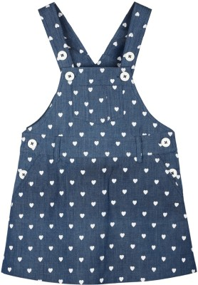 My Lil,Berry Baby Girl's Blue Dungaree
