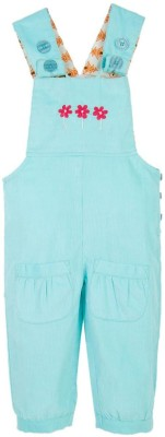 Snuggles Baby Girl's Blue Dungaree