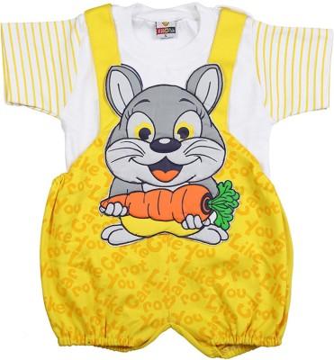 Koolkids Baby Boy's Yellow Romper
