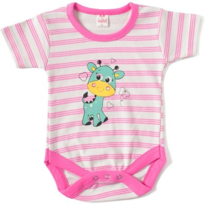 Kandy Floss Baby Boy's Pink Romper