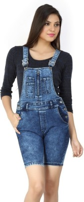 FCK-3 Women's Dark Blue Dungaree