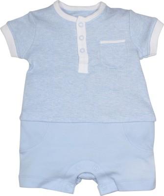 FS Mini Klub Baby Boy's Blue Romper