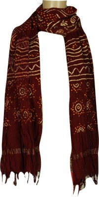 Kutchi Bandhej Cotton Printed Women's Dupatta