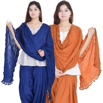 Kalrav Cotton Solid Women's Dupatta at flipkart