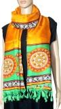 Indian Fashion Guru Raw Silk Floral Prin...